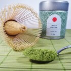 Matcha thee, supergezonde groene theepoeder