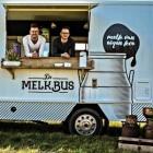 Foodtruck de Melkbus verkoopt producten van verse melk