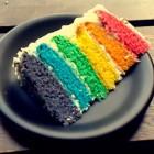 Regenboogcake maken