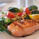 Maaltijden met normale hoeveelheden en calorieën