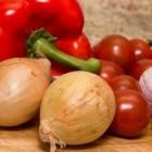 Uien, smaakmakers, groenten en tranentrekker