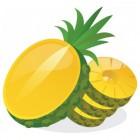 Exotisch fruit: ananas, avocado en passievrucht