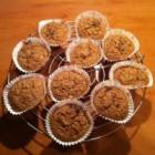 Koolhydraatarme banaan-havermout muffins