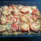 Koolhydraatarme groenten ovenschotel