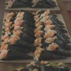 Recept voor temaki sushi