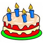 Kinderverjaardag: de taart