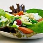 Lentesalades: appel salade en abrikozen salade