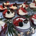 Kleinfruit in de keuken; taarten en desserts
