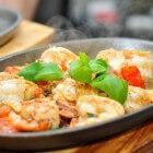 Canarische recepten: gebakken knoflookgarnalen
