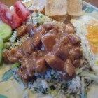 Nasi met kip en satésaus, recept