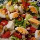 Frisse salades, eenvoudig te bereiden