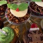 Kerst: cupcakes maken en versieren in kerstthema