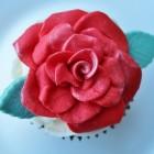 Cupcakes versieren met als thema lente