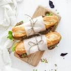 Belegde broodjes kaas of kip