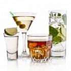 Zure en pittige cocktails, de ingrediënten