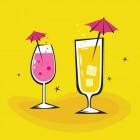 Verfrissende cocktails