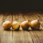 Huilen van uien