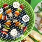 Verse groente roosteren op de barbecue