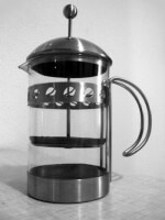 Een cafetière / Bron: Leland, Wikimedia Commons (CC BY-SA-3.0)