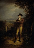Robert Burns / Bron: Alexander Nasmyth, Wikimedia Commons (Publiek domein)