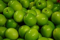 De Granny Smith / Bron: Ja:Hadge, Wikimedia Commons (CC BY-SA-3.0)